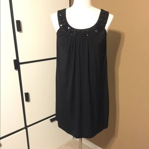 Little Black Dress with Beaded Accent